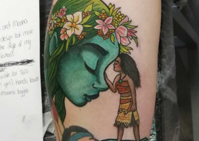 Nick Cook - Moana Half Sleeve